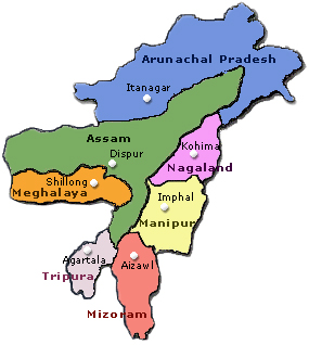 India S North East Region In 2011 Declining Violence Distant Peace