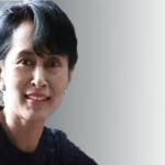 Aung San Suu Kyi storms into Myanmar Parliament