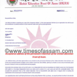 Acceptance address of the permanent Chairman of the ULFA