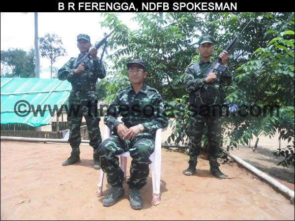 B R Ferengga, NDFB Spokesman