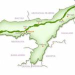 Map Assam