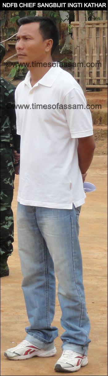 NDFB Chief I K Songbijit