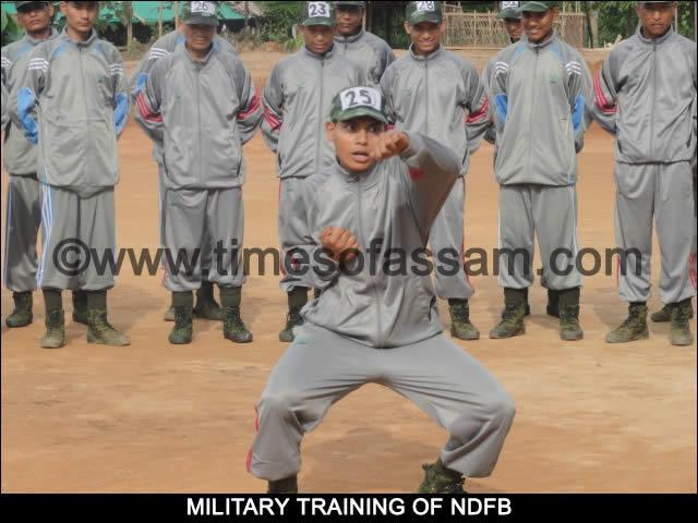 NDFB Martial Arts Training