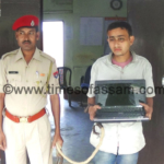 LAPTOP thief arrested in Jorhat, Assam