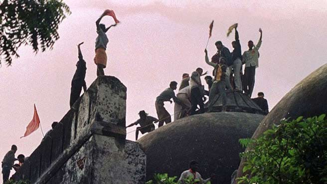 Babri Masjid Demolition by RSS