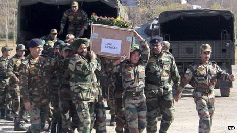 Indian Army killed in Kargil War