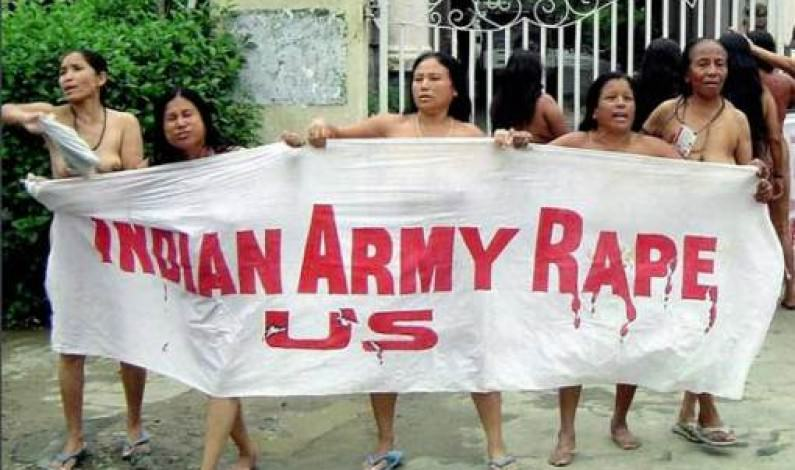 Protest against Rape by Indian Army
