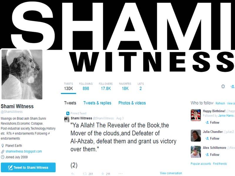 SwamiWitness Twitter Account