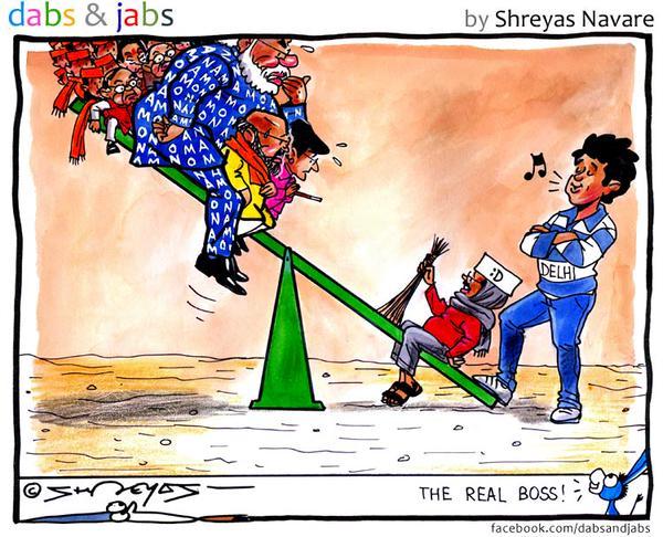 AAP sweeps BJP