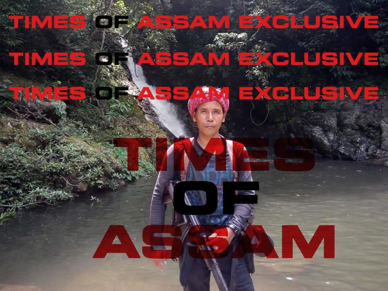 Drishti Rajkhowa alias Drishti Asom in an undisclosed location in Indo-Bangladesh boarder