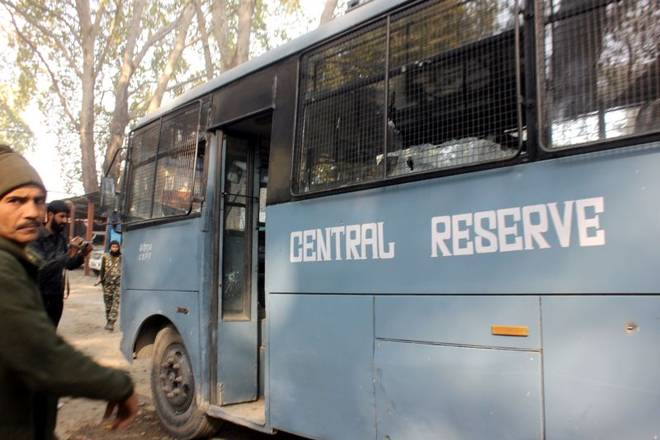 Militants attacked CRPF vehicle onNovember 02,2017